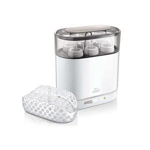Philips AVENT 4-in-1 Sterilisator inkl. 125ml Flasche und 1x Beruhigungssauger