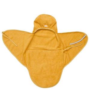Koeka Baby Wickeltuch Neugeborene Dijon organic ochre