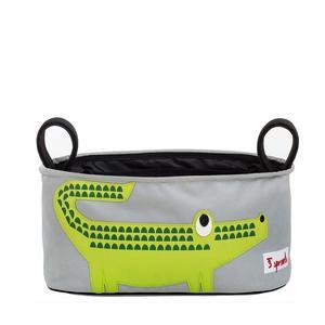 3 Sprouts Kinderwagentasche Krokodil