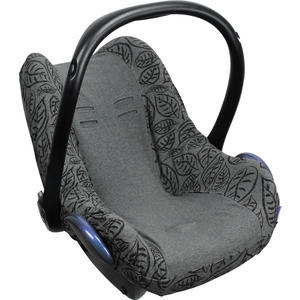Xplorys Dooky Babyschalenbezug Grey Leaves