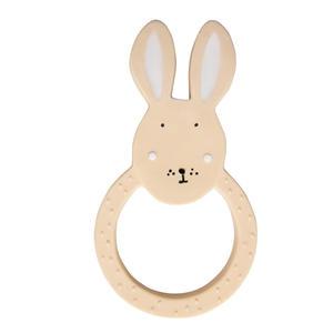 Trixie Beißring aus Naturkautschuk, rund Rabbit