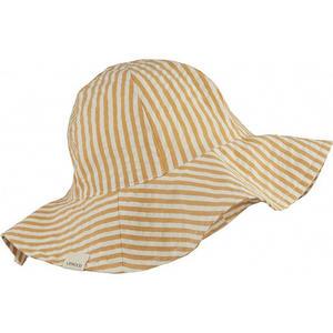 Liewood Amelia Sonnenhut 1-2 Y Stripe: mustard/white