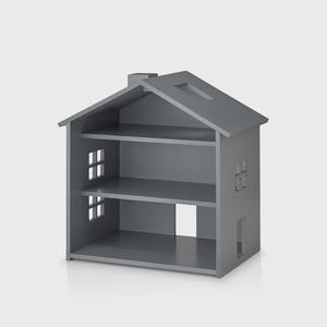 Nofred Puppenhaus Holz Grey