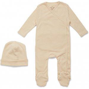 Konges Sløjd Dio Neugeborenen-Set Deux 6 M Toasted Peach Stripe