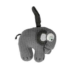 Sebra Häkel Spieluhr Fanto the Elephant Classic Grey