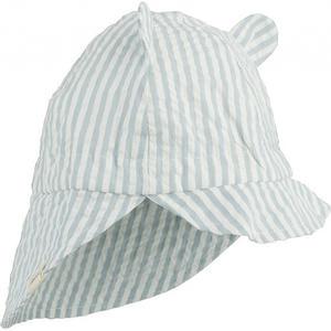 Liewood Gorm Baby & Kleinkinder Sonnenhut 6-9 M Stripe:sea blue/white