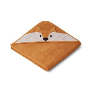 Liewood Augusta Kapuzenhandtuch Fox mustard