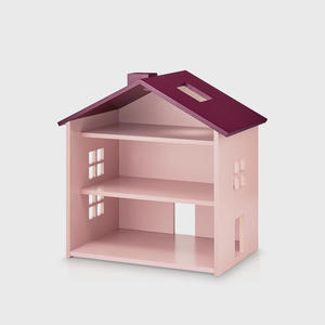Nofred Puppenhaus Holz Rosa