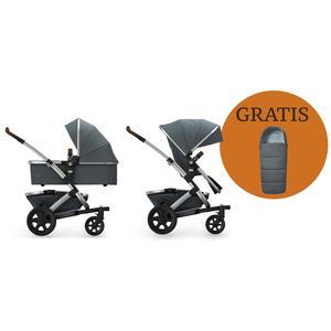 Joolz Geo 2 Kombi-Kinderwagen + Joolz Fußsack!!! Gorgeous Grey