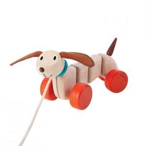 PlanToys Nachziehtier Happy Puppy