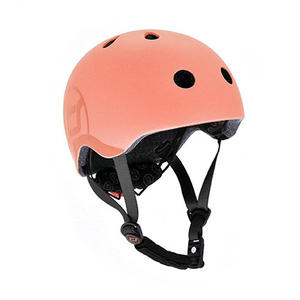 Scoot & Ride Kinderhelm S - M Peach