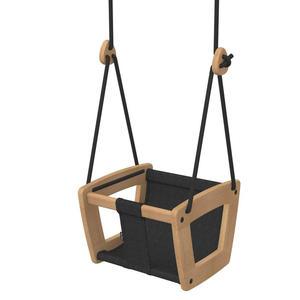 Lillagunga Toddler Schaukel Oak Black Dice Black 2.0 - 2.8 m