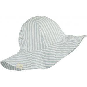 Liewood Amelia Sonnenhut 1-2 Y Stripe:sea blue/white