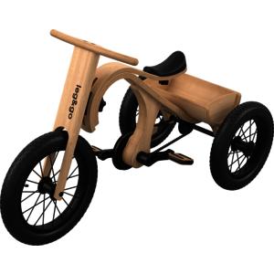 Zubehör Dreirad zu 3in1 Evolution Laufrad 2 - 4 Jahre bzw. 92 bis 104cm Größe
