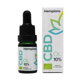 Bio CBD-Öl, 10% aus Österreich 10ml