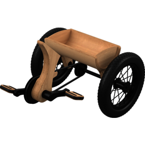 Zubehör Dreirad zu 3in1 Evolution Laufrad 2 - 4 Jahre