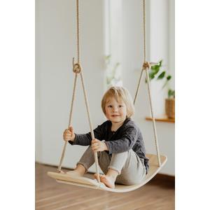 2in1 Balance Board und Schaukel aus Holz