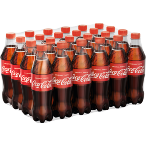 Coca-Cola PET EW 0,5x24 Tray