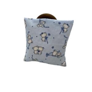 Traubenkernkissen Bärchen blau 2