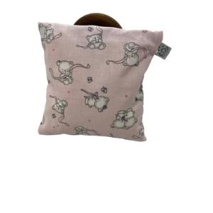 Traubenkernkissen Bärchen rosa 2