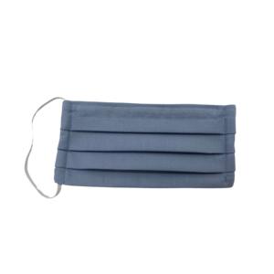 Baumwolle Gesichtsmaske mit Gummibänder graublau