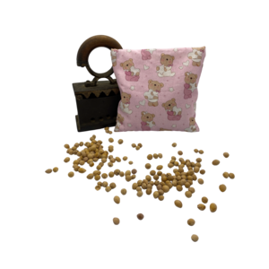 Kirschkernkissen Bärchen rosa (Set, inkl. 2 Hülle)