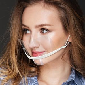2 Stk. Mund Nasen Schutz | Half-Face-Shield