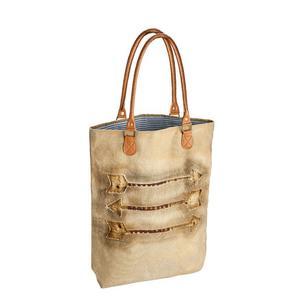 Tasche aus Baumwolle mit Pfeil