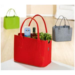 Einkaufstasche / Zeitungstasche Rot