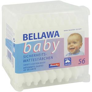 Bellawa Wattestäbchen Sicherheit 56 Stk.