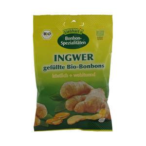 Liebhart´s Bio-Bonbons 100 g Ingwer