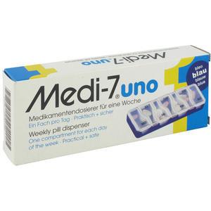 Medi-7 Pha Uno Medikamentendose blau 1 Stk.