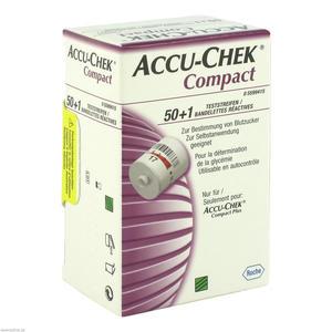 Roche Accu-chek Compact Teststreifen 51 Stk.