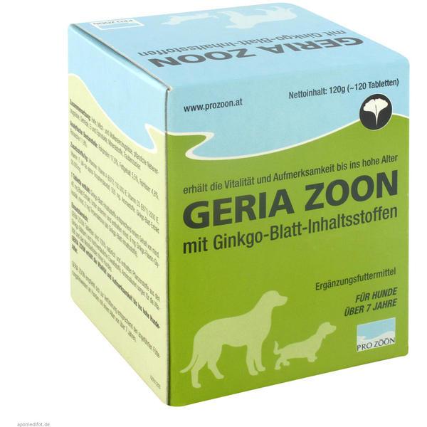 Geria-Zoon Hund Geriatrische Tabletten 120 g