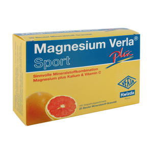 Magnesium Verla Plus Granulat Beutel 20 Stk.