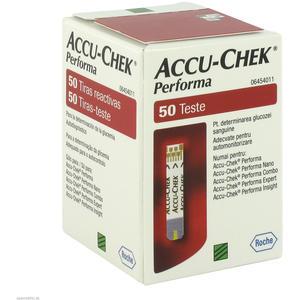 Roche Accu-chek Performa Blutzucker-Teststreifen 50 Stk.