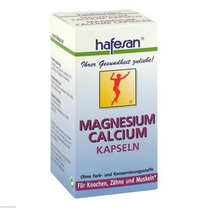 Hafesan Magnesium Calcium Kapseln 75 Stk.