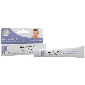 Multi-mam Babydent Zahngel 15 ml