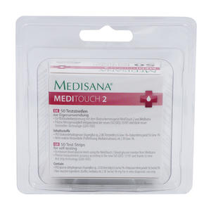 Medisana Blutzucker Teststreifen Meditouch 2 50 Stk.