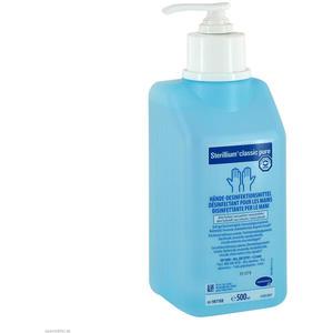 Sterillium Hände-Desinfektionsmittel Pure Classic mit Puder 500 ml