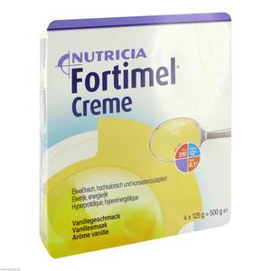 Nutricia Fortimel Creme 125 g 4 Stk. Vanille