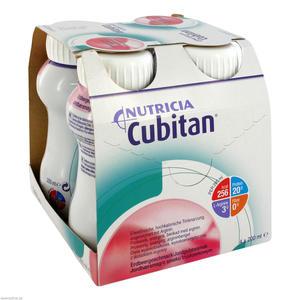 Nutricia Cubitan 200 ml 4 Stk. Erdbeergeschmack
