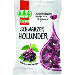 Kaiser Bonbons Schwarzer Holunder 90 g