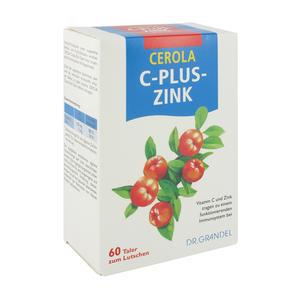 Vitamin C Cerola plus Zinktaler 60 Stk.