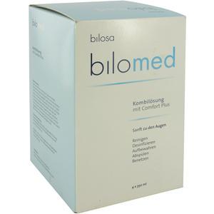Bilomed Augenreiniger 350 ml plus Behälter 4 Stk.
