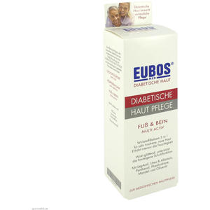 Eubos Diabetes Fuß- und Beinbalsam 100 ml