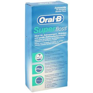 Oral-B Zahnseide Superfloss Regular 50 Stk.