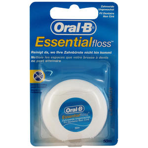 Oral-B Zahnseide Essential floss Ungewachst 50 ml