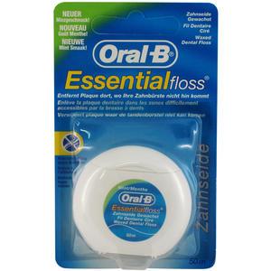 Oral-B Zahnseide Gewachst Mint 50 m