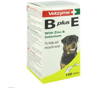 Vetzyme B + E Hund mit Zink und Selenium Tabletten 100 Stk.